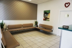 Waiting Area in front of Hospital